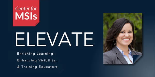 Banner picture showing Dr. Urias for ELEVATE Fellow